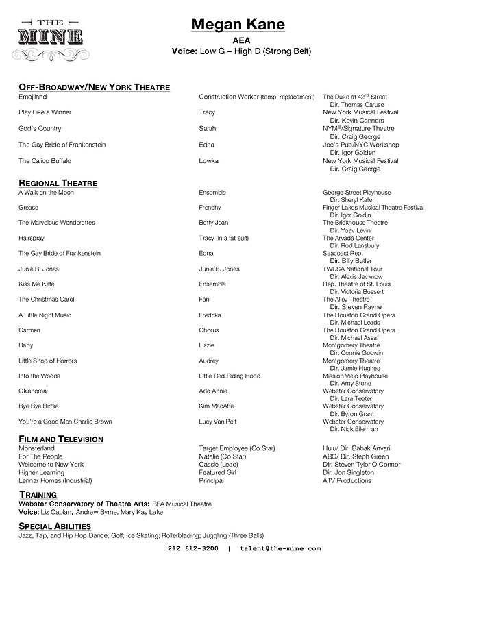 Resume update 11/2020