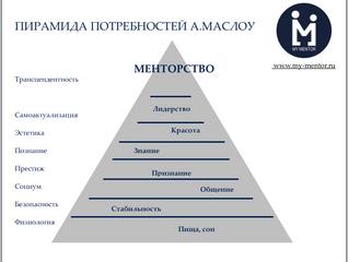 Другая пирамида Абрахама Маслоу, или почему становятся наставниками
