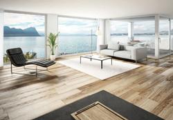 Livingroom mit Seesicht