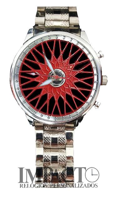 Roda BBS Vermelha 2905G