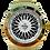 Thumbnail: Roda BBS Branca 5758G