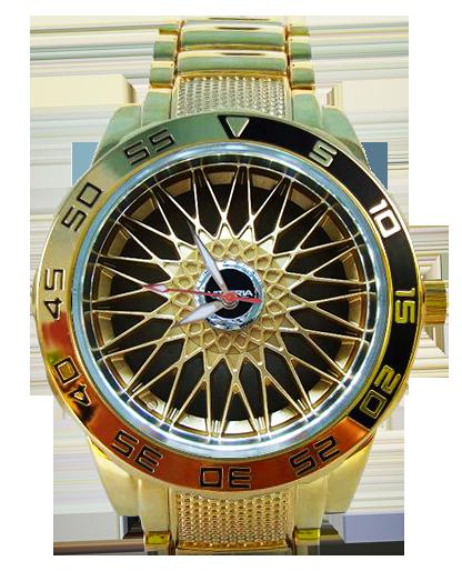 Roda BBS Dourada 5758G