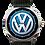 Thumbnail: Logo Volks Azul 1608G-B