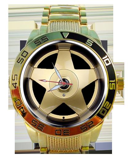 Roda Borbet Dourada 5758G