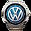 Thumbnail: Logo Volks Azul 1608G