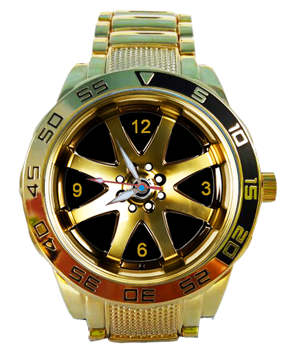 Roda K59 Dourada 5758G