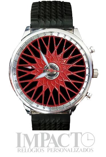 Roda BBS Vermelha 2905G-B