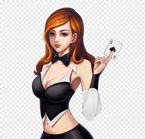 png-transparent-woman-holding-ace-of-heart-card-illustration-chess-mahjong-u68cbu724cu6e38