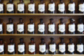 Homeopathic Bottles containing remedies