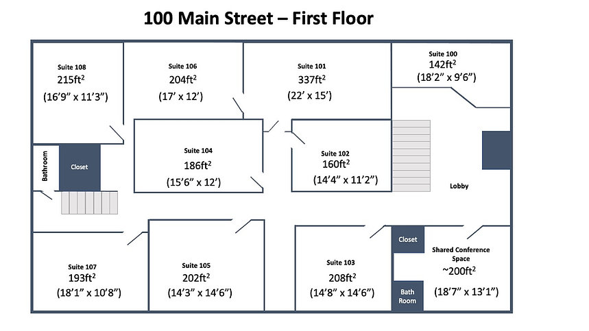 100 main 1st floor layout April 4th 2021