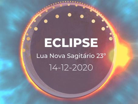 Lua Nova & Eclipse Total Solar Dezembro 2020