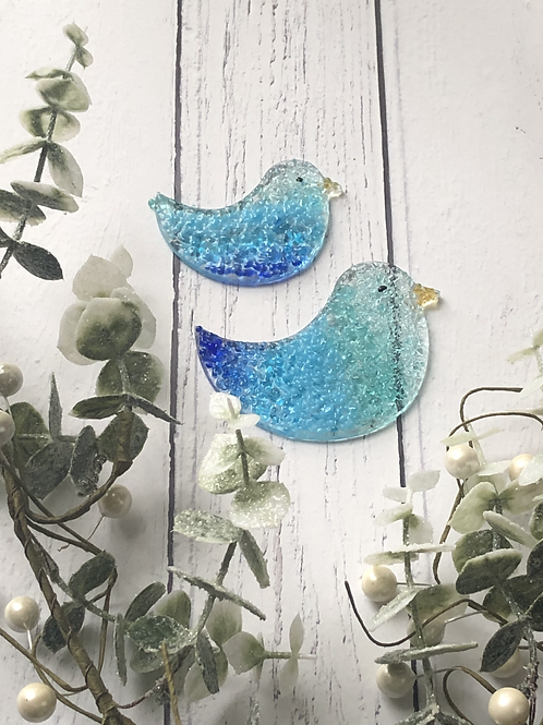 Pair of Birds - Fused Glass at Home Kit