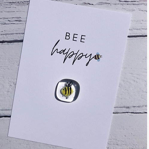 """Kindness Cards - """"Bee Happy"""""""