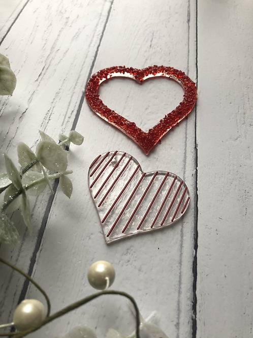Share a Heart Duo - Fused Glass at Home Kit