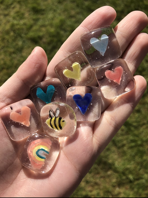 Fused Glass Token - Lucky Dip!