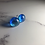 Thumbnail: Blue Lagoon Fused Glass Earrings (#9)