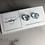 Thumbnail: Confetti Blue Fused Glass Earrings (#8)
