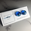Thumbnail: Blue Lagoon Fused Glass Earrings (#9)
