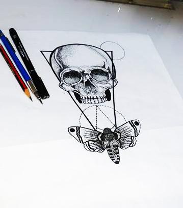 Geometric pointillism