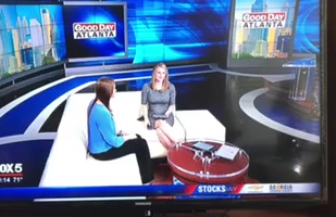 Coach Christen talks about empowering women on Good Day Atlanta!