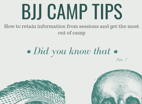 How to Get the Most Out of a BJJ Camp