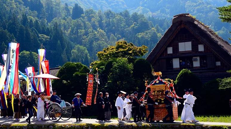 【GROUP TRAVEL】8 Days of Festivity inShirakawago, Magome, Kanazawa & Kyoto