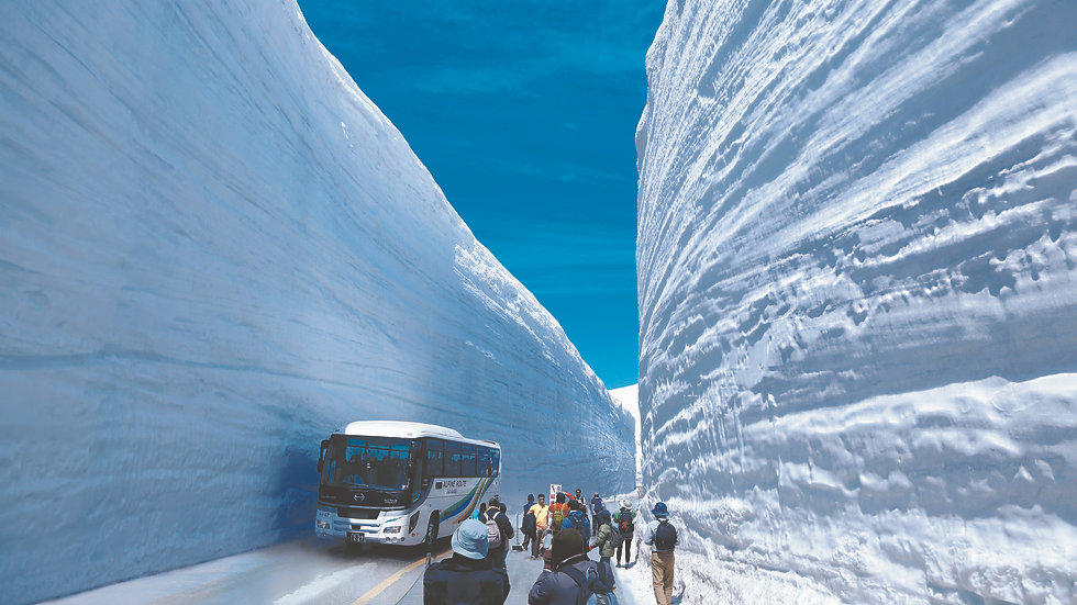 2-Day Tateyama Snow Paradise