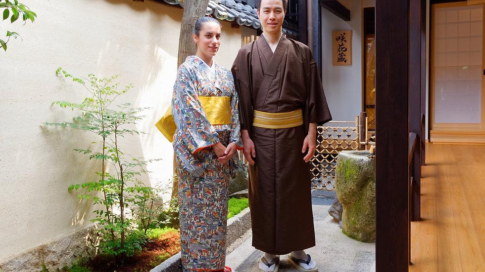Tea Ceremony & Kimono Course