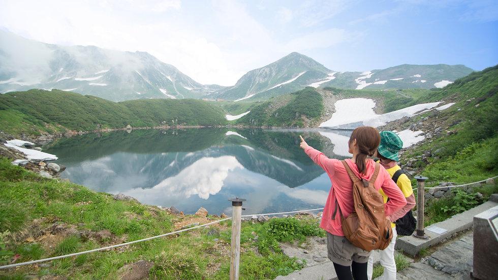 Walk in the Sky, Refreshing Trekking at Mt.Tateyama 2-Days