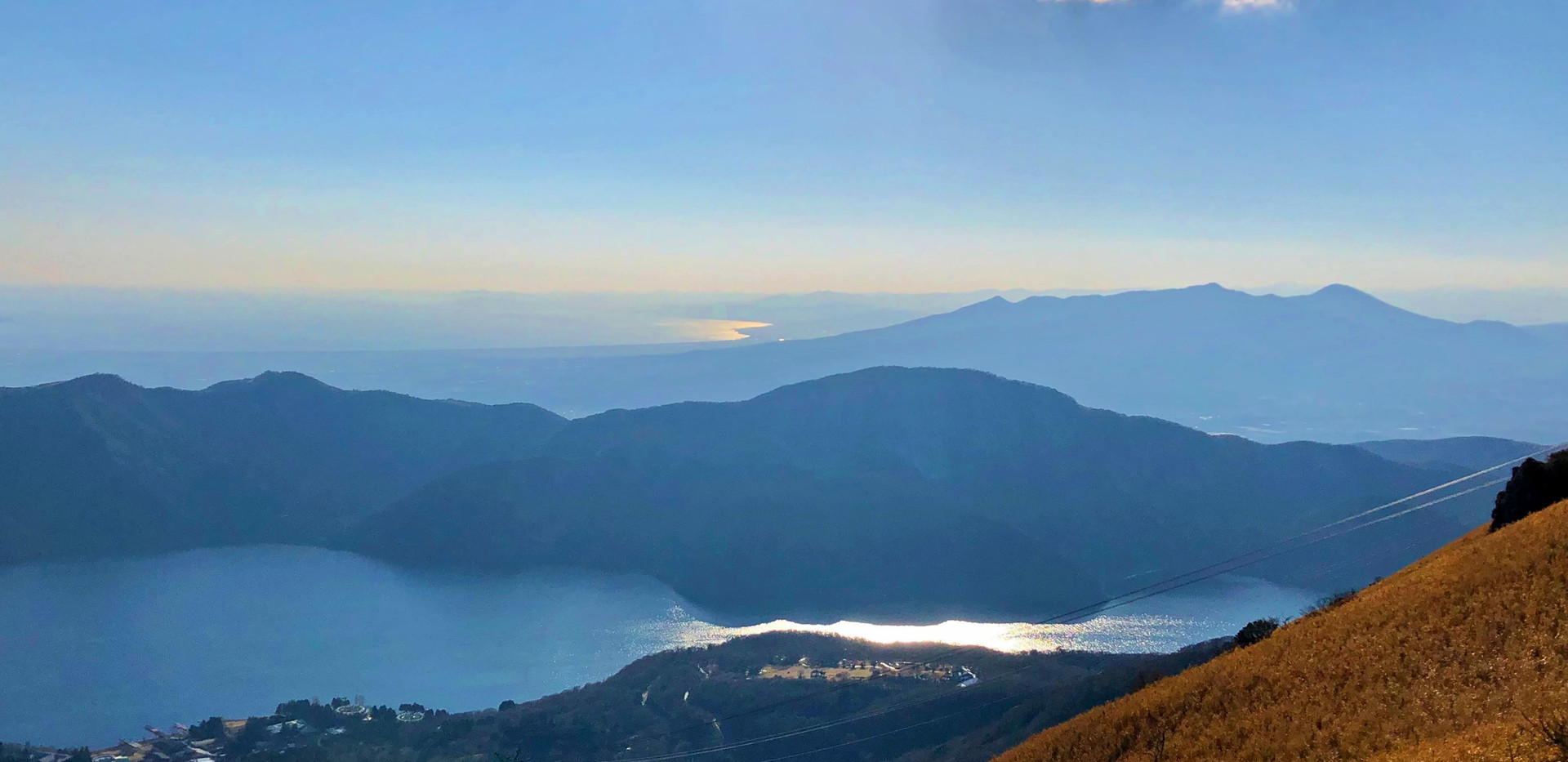 6. View from the top of Hakone Komagatak