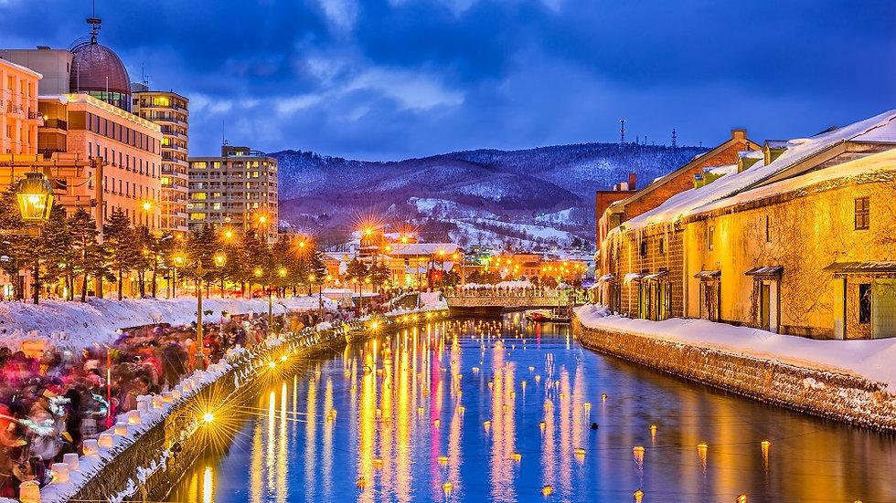 Famous Cities + Hokkaido, 10 Days