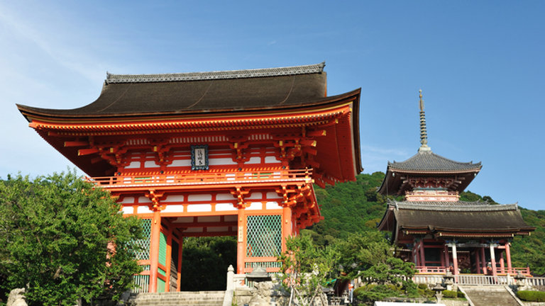 1-Day Kyoto Bus Tour(Round trip from Kyoto/with Lunch)