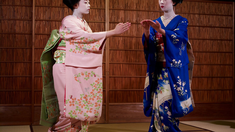 【Night】Maiko Dance & Kyoto Night View with Dinner【EN/CN/KO Audio Guide】
