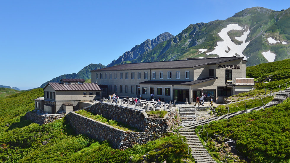 Relax above the Clouds, Hot Springs at Mt.Tateyama 2-Days