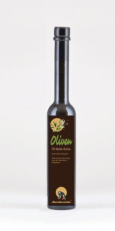 Olivenöl Extra Vergine Montaniola Bio 500 ml