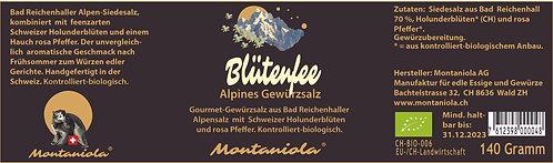 Blütenfee Alpines Gewürzsalz 120 gr