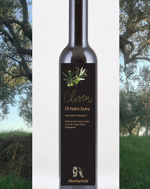 Olivenöl Extra Vergine Montaniola Bio 250 ml