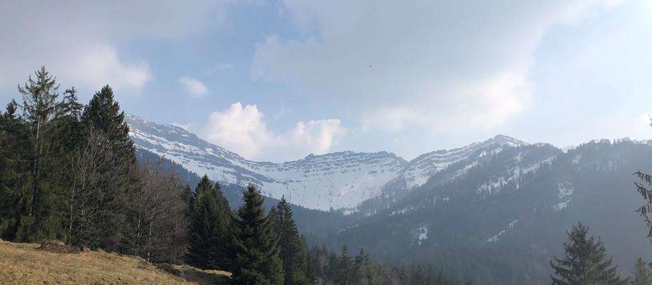 Sonntagsausflug ins Waldreservat Wengital