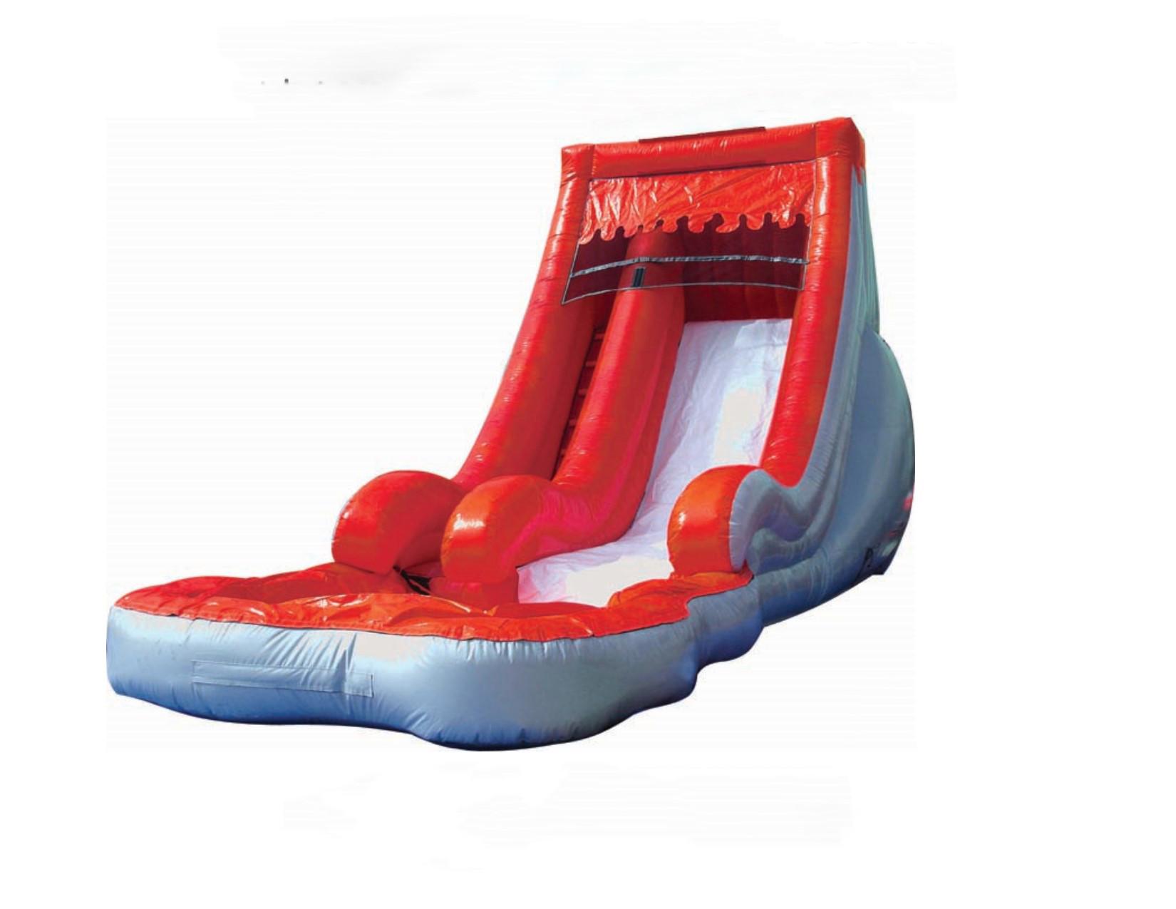 Volcano Slide Pool