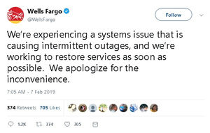 The Reasons Wells Fargo Latest Data Outage Should Scare You