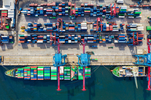 birds-eye-view-photo-of-freight-containe