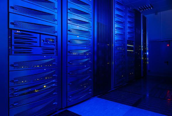 rack server hardware in the data center