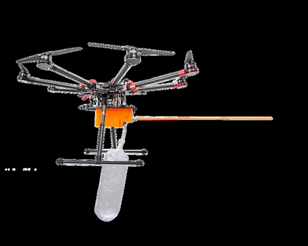scentroid dr1000 air monitor gas sensor dji drone