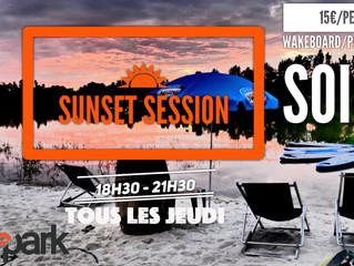 Sunset session tous les jeudi