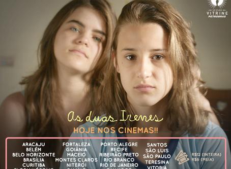 Premiado em Gramado, As Duas Irenes chega hoje aos cinemas!