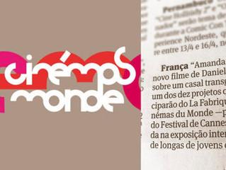 'Amanda e Caio' selecionado para 'La Fabrique des Cinémas du Monde' do Festival de C