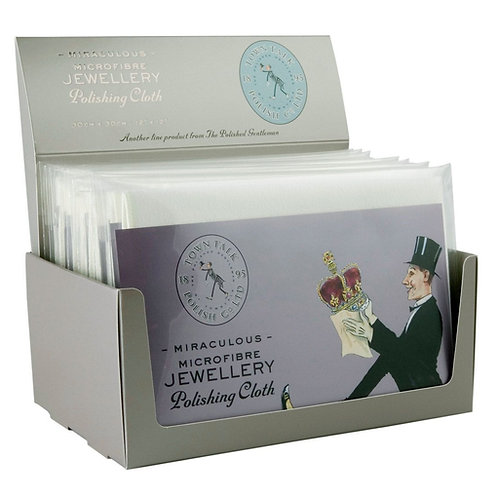 Jewellery Polishing Cloth. Town Talk Microfibre Polishing Cloth.