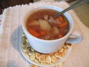Nancy Johnson's Beef Vegetable Soup