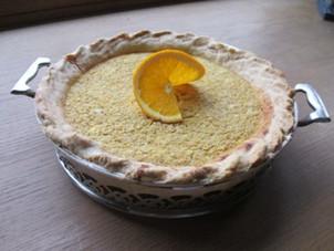 Orange–and-Oatmeal Breakfast Pie