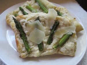 Asparagus & Parmesan Cream Pastry